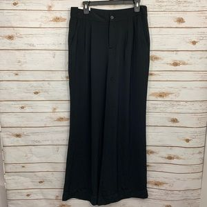 Gap Black Wide Leg Career Trouser Pants NWT